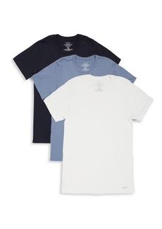 Calvin Klein Cotton Crewneck T-Shirt - 3 Pack