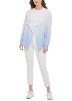 Calvin Klein Cotton Dip-Dyed Cardigan