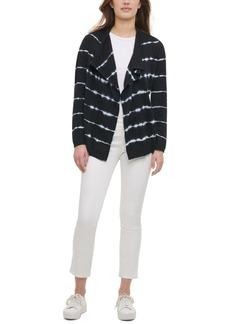 Calvin Klein Cotton Tie-Dyed Cardigan