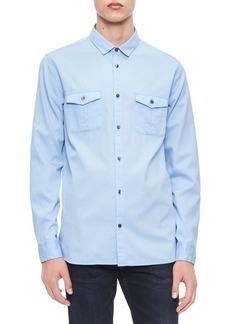 Calvin Klein Cotton Utility Shirt