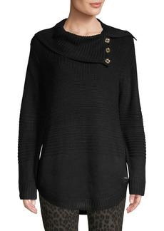Calvin Klein Cowlneck Ribbed Sweater