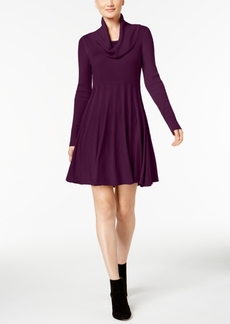 Calvin Klein Cowl-Neck Sweater Dress, Regular & Petite Sizes