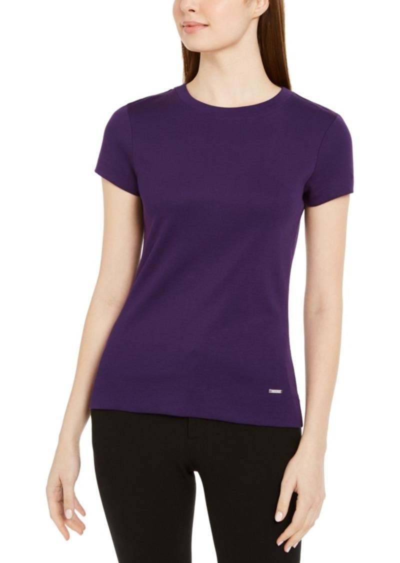 Calvin Klein Crewneck Cotton T-Shirt