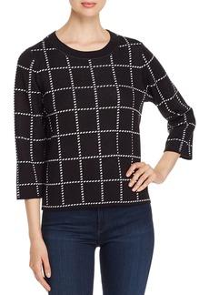 Calvin Klein Crewneck Cropped Sweater