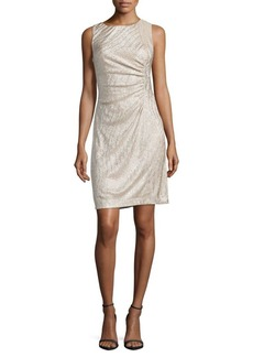 Calvin Klein Crewneck Jersey Dress