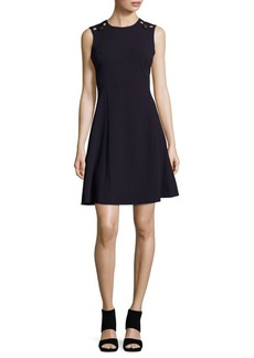 Calvin Klein Crewneck Sleeveless Dress