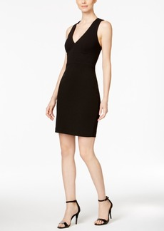 Calvin Klein Crisscross Bodycon Sheath Dress