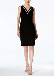 Calvin Klein Crisscross Sheath Dress