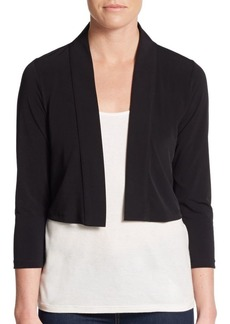 Calvin Klein Cropped Jersey Shrug