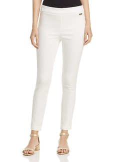 Calvin Klein Cropped Pull-On Pants