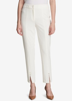 Calvin Klein Cropped Straight-Leg Pants