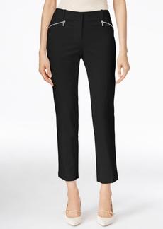 Calvin Klein Cropped Zip-Pocket Pants