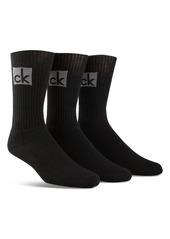 Calvin Klein Cushioned Athleasure Socks - Pack of 3