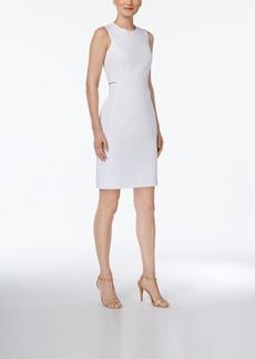 Calvin Klein Cutout Compression Sheath Dress