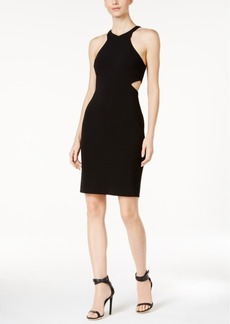Calvin Klein Cutout Crepe Sheath Dress
