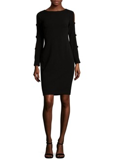 Calvin Klein Cutout Detail Sheath Dress