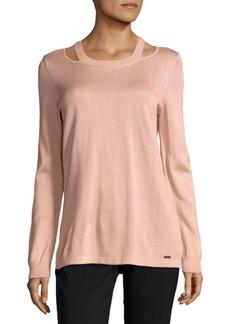 Calvin Klein Cutout Pullover