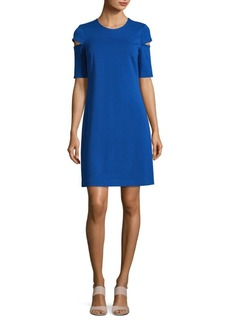 Calvin Klein Cutout Sheath Dress