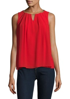 Calvin Klein Cutout Sleeveless Top
