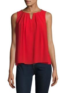 Calvin Klein Cutout Sleeveless Top