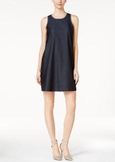 Calvin Klein Denim Embroidered Shift Dress