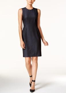 Calvin Klein Denim Sheath Dress