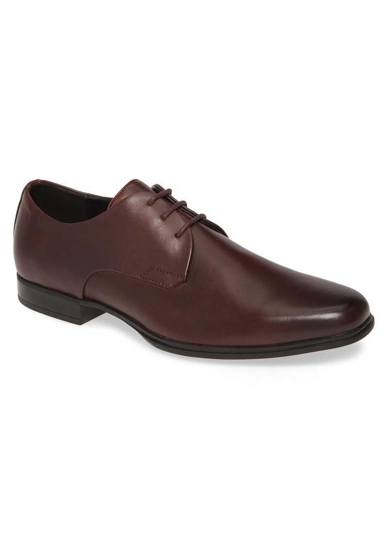 Calvin Klein Dillinger Plain Toe Derby (Men)