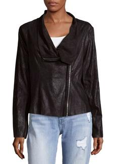 Calvin Klein Distressed Flyaway Jacket