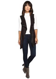 Calvin Klein Distressed Long Vest