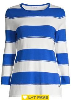 Calvin Klein Dotted Stripe Sweater