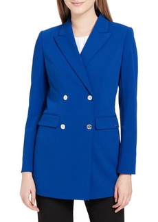Calvin Klein Double-Breasted Long Jacket
