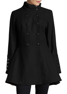 Calvin Klein Double-Breasted Wool-Blend Coat