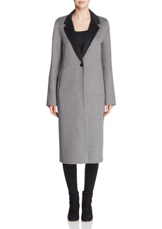 Calvin Klein Double-Faced Longline Coat
