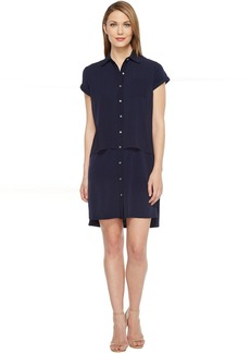 Calvin Klein Double Layer Chiffon T-Shirt Dress