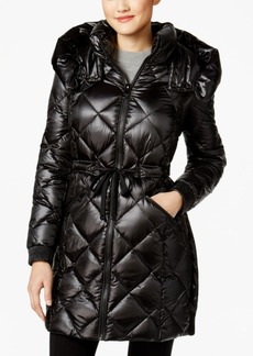 Calvin Klein Down Hooded Puffer Coat