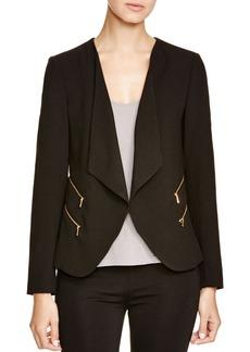 Calvin Klein Drape Front Jacket