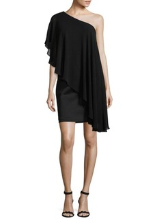 Calvin Klein Drape Mini Dress