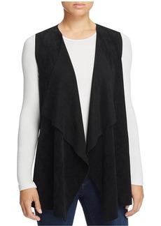 Calvin Klein Draped Faux Suede Vest