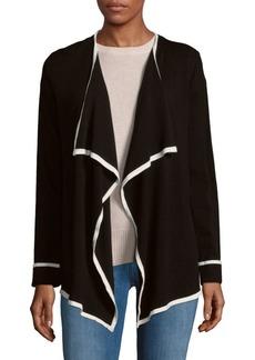 Calvin Klein Draped Front Cardigan