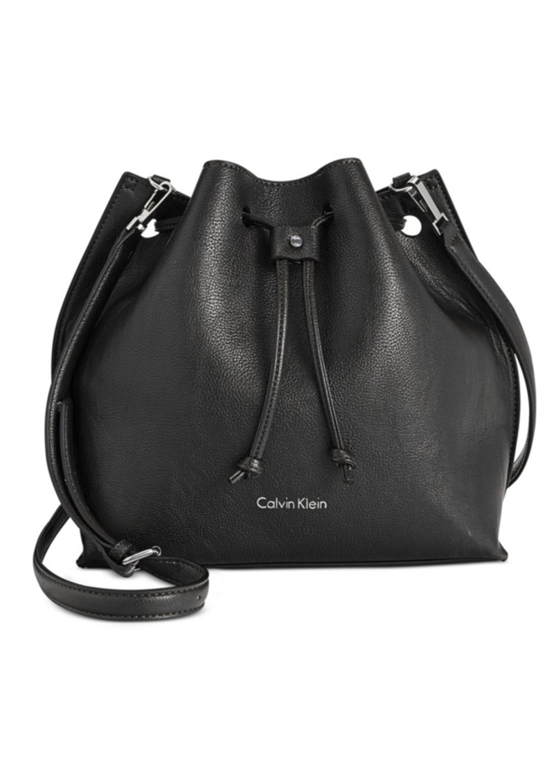 Calvin Klein Drawstring Bucket Bag