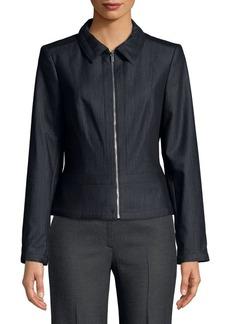 Calvin Klein Dressy Denim Zip Jacket