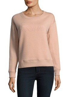 Calvin Klein Dropped Shoulder Cotton Sweatshirt