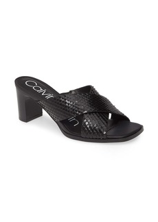Calvin Klein Dylan Armatura Slide Sandal (Women)