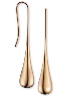 Calvin Klein Ellipse Rose Gold-Tone Pvd Stainless Steel Drop Earrings