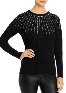 Calvin Klein Embellished Crewneck Sweater