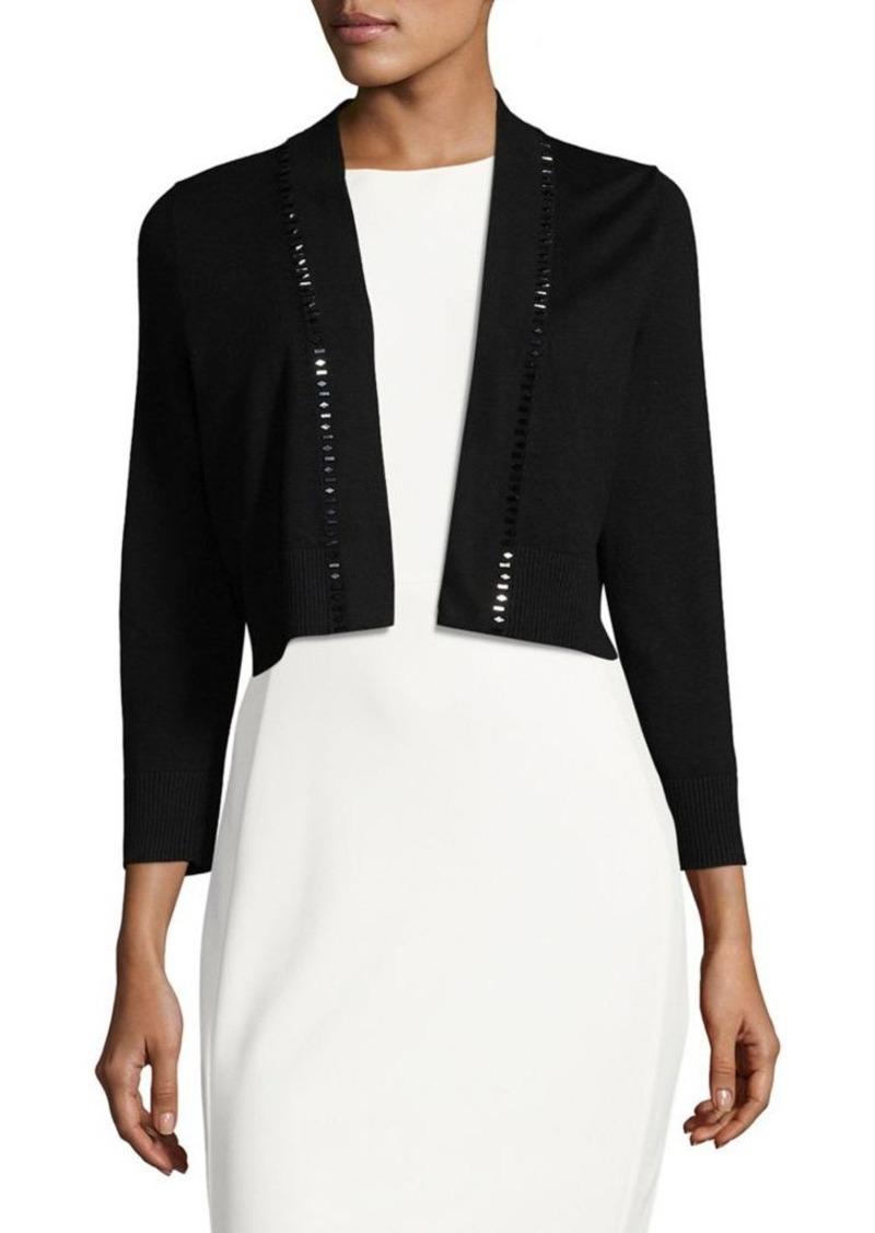 Calvin Klein Calvin Klein Embellished Cropped Cardigan | Sweaters ...