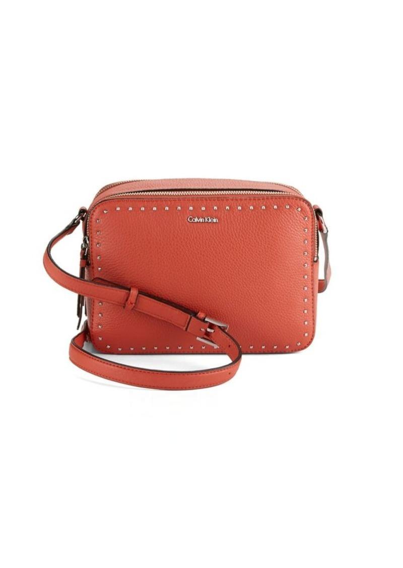 66fd815ac8c Calvin Klein Calvin Klein Embellished Leather Bag