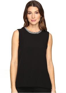 Calvin Klein Embellished Shell Blouse