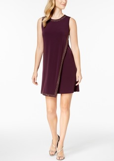 Calvin Klein Embellished Sleeveless Mini Dress