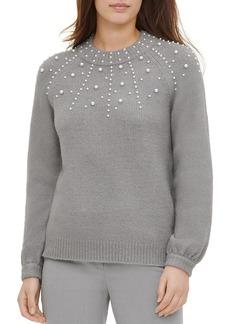 Calvin Klein Embellished Sweater